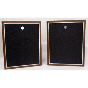 Vintage Motorola Bookshelf Speakers