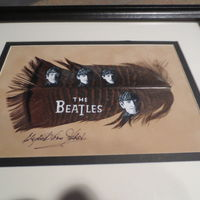 Beatles Feather my Aunt painted for me :-)