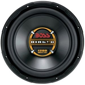Boss Audio D125DVC 12-Inch Dual 4-Ohm Diablo Voice Coil Subwoofer - Single (Black)