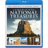 New Digital One Stop America'S National Treasures Product Type Blu-Ray Disc Documentary Domestic