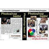 PhotoVision PhotoShop Simplified, 6 Tutorial DVD's covering PhotoShop Version 7, CS and CS2, with Ed Pierce
