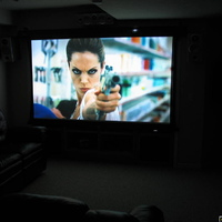 "106"" 16:9 Elite Cinetension 2 screen"