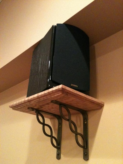 Show Me Your Diy Speaker Wall Mounts Avs Forum Home