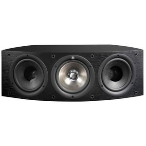 KEF iQ60cBL Center Channel Speaker (Single, Black)