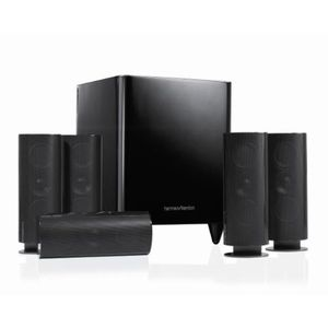 Harman Kardon HKTS60 Complete 5.1 Home-Theater Speaker System (Black)