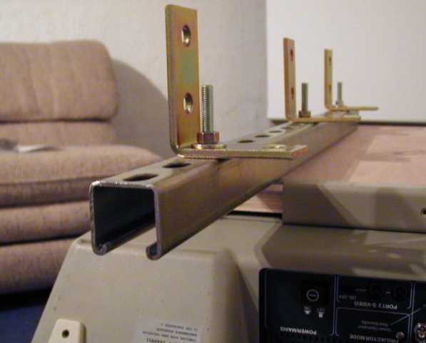 How To Hang A Fptv With Unistrut Avs Forum Home