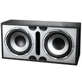 Dual 12 Inch Bass Subwoofer System - 400W Max