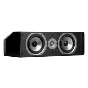 Polk Audio CS20 Center Channel Speaker (Single, Black)