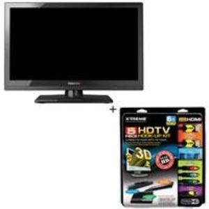 Toshiba 24SL410 24 inch 1080p LED HDTV, with Basic Accessory Kit (2 HDMI Cables, 1 RGB Cable, 1 Audio Cable, Plasma / LCD Cleaning Kit)