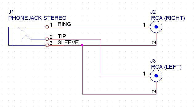 rca wire diagram diy rca to mini-jack - avs forum | home theater ... pc s video av rca to vga wire diagram