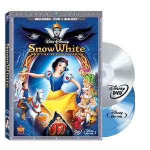 Snow White and the Seven Dwarfs (Three-Disc Blu-ray/DVD Combo + BD Live w/DVD packaging)