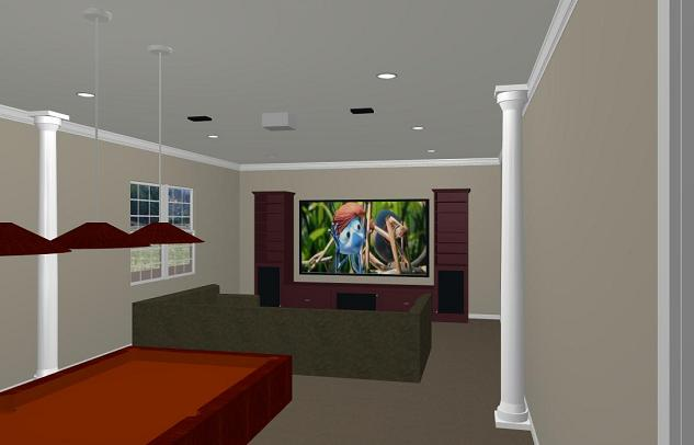Recessed lighting number and placement avs forum for Number of recessed lights per room