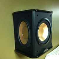 BIC Acoustech PL-66 Surround Speaker Rear Side