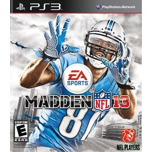 Madden 2013 Playstation3 Game EA