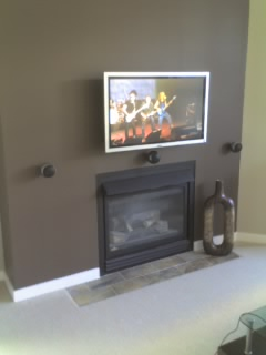 Flat Panel Over Fireplace Discomforting Page 2 Avs