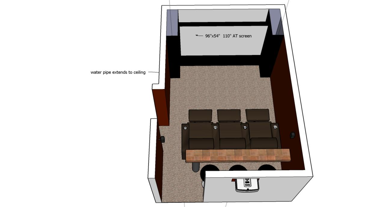 Small Home Theater design questions - AVS Forum | Home Theater ...
