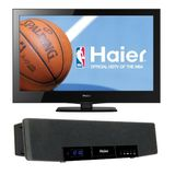 Haier 24 inch LCD HDTV with  Soundbar