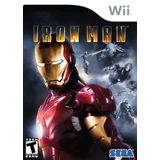 Iron Man Wii Game SEGA
