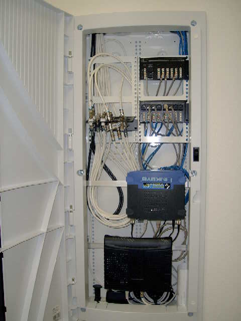 Help laying out structured media cabinet avs forum home theater discussions and reviews Wired home network architecture