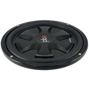 Powerbass S10T 10-Inch Single 4 Ohm Thin Subwoofer