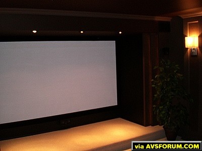 Our Home Theatre...... every night is a great night for movies