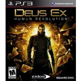 Deus Ex: Human Revolution Playstation3 Game SQUARE ENIX