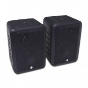 Bic America Rtrv44-2 Indoor/Outdoor 3-Way Speakers (Black)