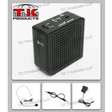 Aker Voice Amplifier 16watts Black MR2200, Portable, for Teachers, Coaches, Tour Guides, Presentations, Costumes, Etc.