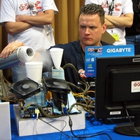GOOC 2009 competition in LA http://www.pcper.com/reviews/Shows-and-Expos/Gigabyte-Open-Overclocking-Championship-2009-regional-finals-coverage?aid=698