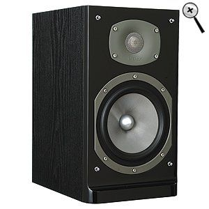 Energy C-200 2-Way Bookshelf Speaker - Black Ash