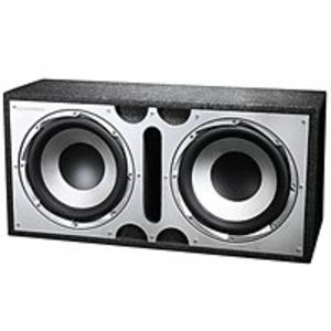 Dual 12 Inches Bass Subwoofer Box - 400W Max