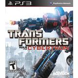 Transformers: War For Cybertron Playstation3