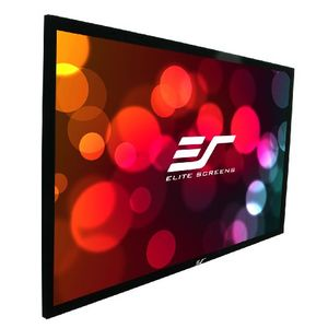 Elite Screens ER114WX1 Sable Fixed Frame