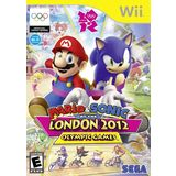 Mario & Sonic: London Olympic Games Wii Game SEGA