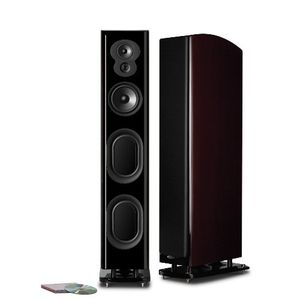 Polk Audio LSiM Series Cherry Floorstanding Tower Speaker