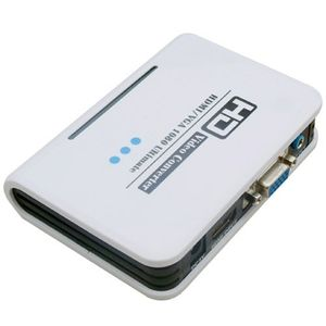 HDMI to VGA and Audio Converter ( Support 1080P, Input HDMI, Video Output: VGA, Audio Output: 3.5 mm-outs )