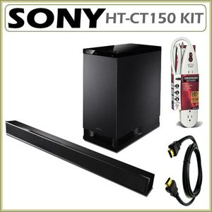 Sony HT-CT150 Virtual 5.1 Channel Sound Bar and Subwoofer Set + Accessory Kit