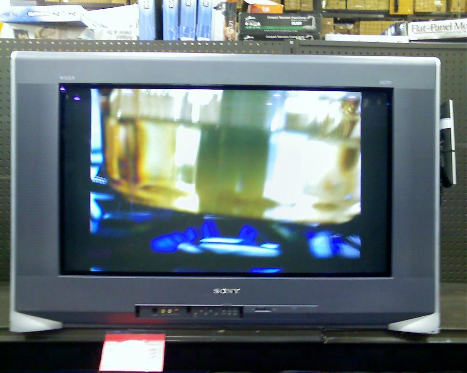 sony wega crt tv. ll sony wega crt tv