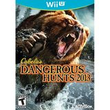 Activision Blizzard Inc 76961 Cabelas Dangerous Hunts Wii U