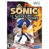 Sonic and the Secret Rings Wii Game SEGA