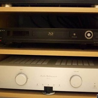 Pre5 - Multichannel Analog pre-amp by Audio Refinement.  Went this route since the Oppo decodes every DD/DTS codec needed for movie playback.  Once I added the Marantz DD processor, I took care of 99% of my decoding needs so I didn't need a...