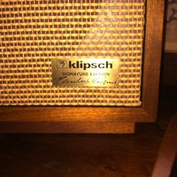 "KLIPSCH HERESY II, ""SIGNATURE EDITION"" 1986"