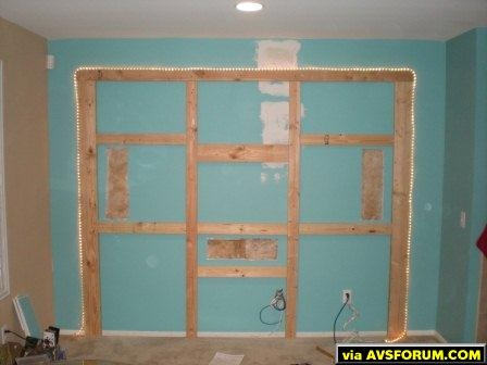 floating wall framing