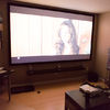 sarangiman's photos in 120&amp;quot; screen in a room with 8ft ceiling - crazy?