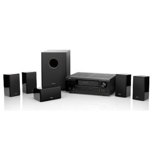 Denon DHT-1312XP A/V Home Theater Receiver AVR1312 with SYS1312 Theater Speaker Package