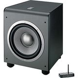 JBL ES250PWBK Wireless 400-Watt Powered 12-inch Subwoofer (Black)