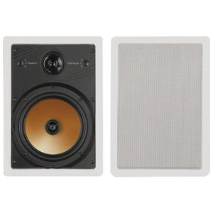 BIC AMERICA HT8W 8 inch, 3-WAY ACOUSTECH SERIES IN-WALL SPEAKERS