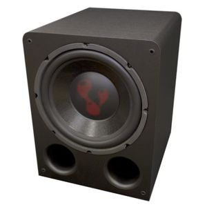 "Lava Subs 12"" 250 Watt Home Theater Powered Subwoofer"
