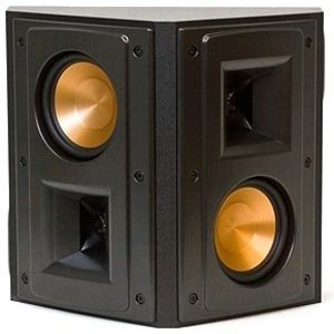 RS-42 Reference II Wide Dispersion Surround Speaker - Black (Each)