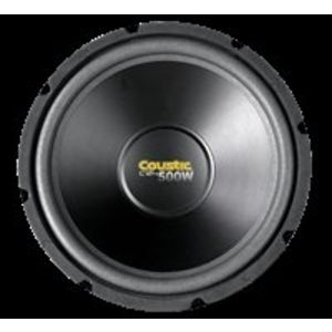 Coustic C124 12in Single 4OHM Subwoofer